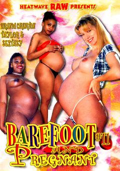 "Adult entertainment movie ""Barefoot And Pregnant 11"" starring Sextasy, Miranda Carington & Taylor. Produced by Heatwave Raw."