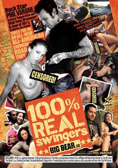 "Adult entertainment movie ""100 Percent Real Swingers: Big Bear"" starring Zelda, Crystal & Amanda. Produced by Vivid Entertainment."