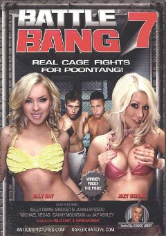 "Adult entertainment movie ""Battle Bang 7"" starring Ally Kay, Jazy Berlin & Michael Vegas. Produced by Antigua Pictures."