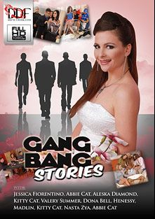 Gang Bang Stories, starring Madlin Moon, Nasta Zya, Donna Bella, Henessy, Aleska Diamond, Valerie Summer, Kitty Cat, Abbie Cat, Jessica Fiorentino, Mugur, Steve Q., Frank M., David Perry and K. Jamaica, produced by DDF Production Ltd.