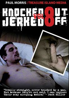 Knocked Out Jerked Off 8, starring Max, Jerry (II), Tony (TIM), Jasper (m) and Craig, produced by Treasure Island Media.