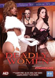 "Featured Star - Liza Del Sierra presents the adult entertainment movie ""Deadly Women""."