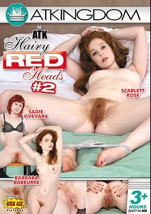 ATK Hairy Red Heads 2, starring Sadie Gvevara, Scarlett Rose, Barbara Babeurre, Nico Kelley, Jessica Biel, Ryanne, Simone  Kross, Ava, Madison Young, Ginger and Mona, produced by Kick Ass Pictures and Amateur Teen Kingdom.