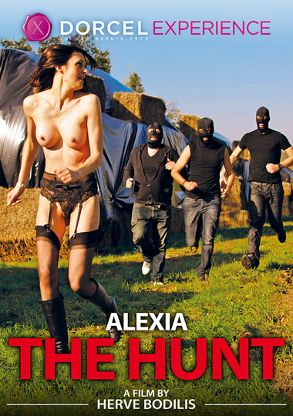 Straight Adult Movie Alexia The Hunt - French - front box cover