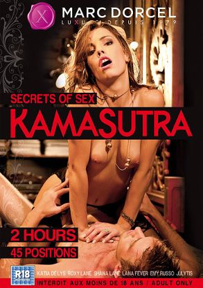 Straight Adult Movie Secrets Of Sex: Kamasutra - front box cover
