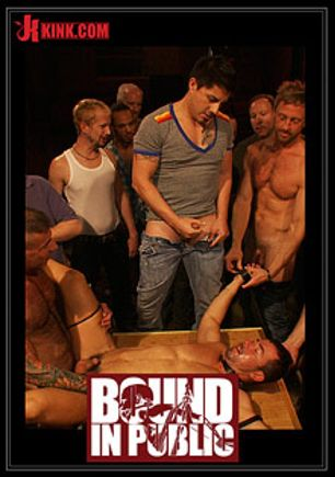 Bound In Public: The Nob Hill Theater Slut, starring Tristan Jaxx and Dominik Rider, produced by KinkMen.