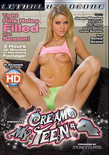 Cream In My Teen 4, starring Jessa Rhodes, Alexis Adams, Kira Lake, Cali Hayes and Candy Martinez, produced by Lethal Hardcore.