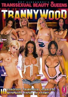 "Adult entertainment movie ""Transsexual Beauty Queens: Trannywood"" starring Dayana (o), Ambar & Sabrina Vienna. Produced by Androgeny Production."