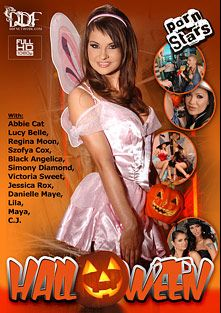 Halloween, starring Svetlana Arkhangelskaya, Sandra Fox, Abbie Cat, C.J. (f), Lucy Belle, Regina Moon, Simony Diamond, Jessica Rox, Danielle Maye, Bianca Golden, Black Angelica, Victoria Sweet, Csoky Ice and Frank Gun, produced by DDF Production Ltd.