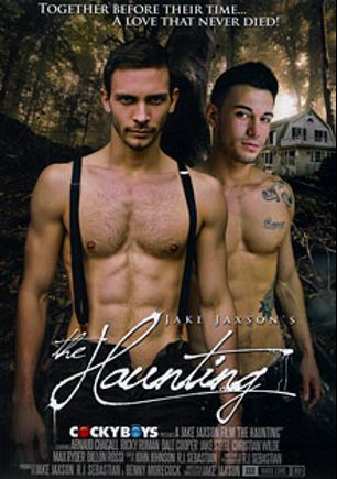 The Haunting, starring Ricky Roman, Dillon Rossi, Dale Cooper, Max Ryder, Arnaud Chagall, Christian Wilde and Jake Steel, produced by Cockyboys.
