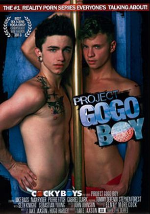 Project GoGo Boy, starring Max Ryder, Jake Bass, Hedda Letuce, Ben Rose, Stephen Forest, Arnaud Chagall, Seth Knight, Gabriel Lenfant, Tommy Defendi, Phoenix Young, Sebastian Young and Pierre Fitch, produced by Cockyboys.