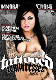 "Featured Category - Alt presents the adult entertainment movie ""Tattooed Temptresses 2""."