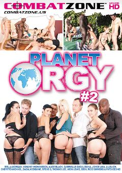 "Adult entertainment movie ""Planet Orgy 2"" starring Gabrielle Gucci, Bella Morgan & Yohane Yohansson. Produced by Combat Zone."