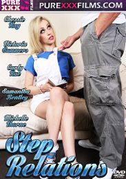 "Editors' Choice presents the adult entertainment movie ""Step Relations""."