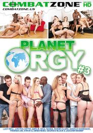 """Featured Category - Orgies presents the adult entertainment movie """"Planet Orgy 3""""."""