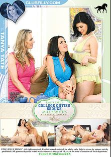 College Cuties Seduce MILF Beauties, starring Belle Noire, Nikki Phoenix, Lilly Evans, Veronica Avluv, Tanya Tate, Sofie Carter, Sara Luvv and Lea Lush, produced by Filly Films.