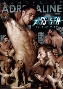 Ass Sex In The City, starring Sean Zevran, Jordan Levine, Chris Bines, Jorge Fusco, Caleb Strong, Dale Cooper, Jayden Taylor (m) and Paul Wagner, produced by Randy Blue.