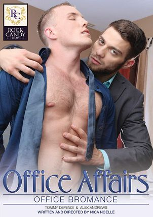 Gay Adult Movie Office Affairs: Office Bromance