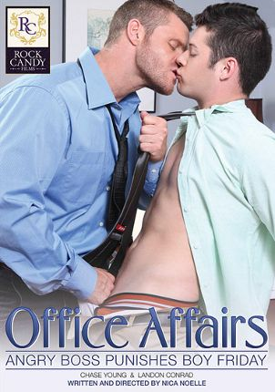 Gay Adult Movie Office Affairs: Angry Boss Punishes Boy Friday