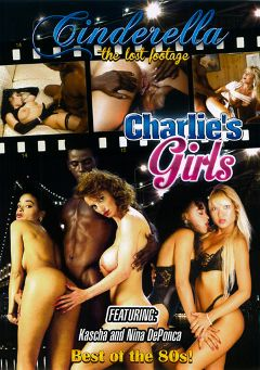 "Adult entertainment movie ""Charlie's Girls"" starring Ebony Ayes, Brandy Wine & Lauryl Canyon. Produced by Cinderella-Lost Footage."