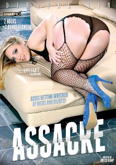 "Adult entertainment movie ""Assacre"" starring A.J. Applegate, Nikita Bellucci & Xander Corvus. Produced by Digital Sin."