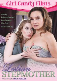 """Featured Studio - Girl Candy Films presents the adult entertainment movie """"Lesbian Stepmother""""."""