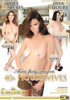 "Adult entertainment movie ""40 Plus Housewives"" starring Holiday Hughes, Marisa Vazquez & Mimi Moore. Produced by AMKingdom."