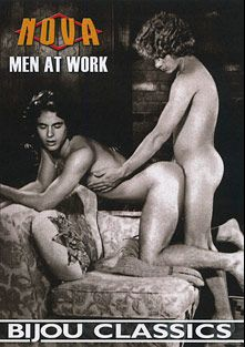 Men At Work, starring Greg Dale, Clay Russell, Rex Brandon, Paul Seton, Mike DeGangi, Dean Goodman, Ted Roberts, Cal Holt, Marc Forek, Randy Lane, Ron Stevens, Dale Arnold and Lee Marlin, produced by Bijou Gay Classics and Nova.