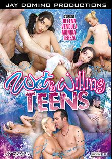 Wet And Willing Teens, starring Angel Velvet, Helena, Monika and Tereza (f), produced by Juicy Niche and Jay Domino Productions.