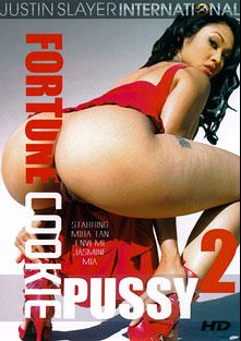 Fortune Cookie Pussy 2, starring Mika Tan, Justin Slayer, Jasmine, Envi Mi and Mia, produced by Justin Slayer Productions.