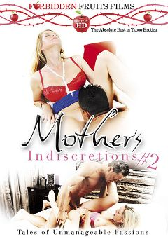 "Adult entertainment movie ""Mother's Indiscretions 2"" starring Jodi West, Johnny Champ & Desi Dalton. Produced by Forbidden Fruits Films."