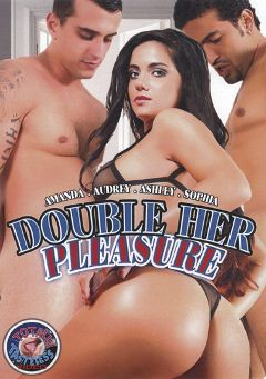 "Adult entertainment movie ""Double Her Pleasure"" starring Amanda Gouveia, Tony Tigrao & Alec Knight. Produced by Totally Tasteless Video."