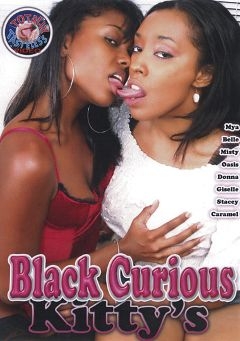 "Adult entertainment movie ""Black Curious Kitty's"" starring Violet, Carmel & Giselle Ryan. Produced by Filmco."