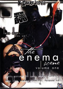 "Adult entertainment movie ""The Enema Scene"" starring Summer Cummings, Shelby Stevens & Asia Carrera. Produced by Bizarre Video Productions."