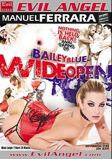 Bailey Blue Wide Open, starring Dahlia Sky, Ike Diezel, Sovereign Syre, Jessy Jones, Chad Alva, Carlo Carrera, Lea Lush, Ramon Nomar, Manuel Ferrara and Scott Lyons, produced by Evil Angel and Manuel Ferrara Productions.