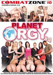 """Featured Category - Orgies presents the adult entertainment movie """"Planet Orgy 4""""."""