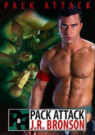 Pack Attack 8: J.R. Bronson, starring Doug Acre, J.R. Bronson, Levi Madison, Luke Milan, James Ryder and Mario Costa, produced by Falcon Studios Group and Hot House Entertainment.