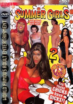 "Adult entertainment movie ""Summer Girls ... and Some are Not 2"". Produced by Robert Hill Releasing Co.."