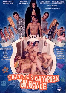 That 70's Gay Porn Movie, starring Randy Blue, Vincent DeSalvo, Dustin Steele, Ethan Parker, Xander Scott, Christian Sharp, Brandon Kent, Gavin Tate, Reese Rideout, Mike West and Leo Giamani, produced by Randy Blue.