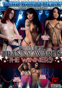 "Adult entertainment movie ""5th Annual Tranny Awards: The Winners"" starring Jane Marie, Wendy Summers & Jesse Flores. Produced by Grooby Productions."