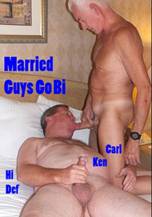 Married Guys Go Bi, starring Ken Smith and Carl Hubay, produced by Hot Dicks Video.