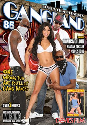 Gangland 85, starring Danica Dillan, Tinslee Reagan, Robert Christian and Cece Stone, produced by Devil's Film and Devils Film.