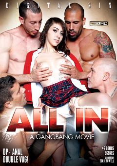 "Adult entertainment movie ""All In... A Gangbang Movie"" starring Luna Kitsuen, Cindy Starfall & Mia Rider. Produced by Digital Sin."