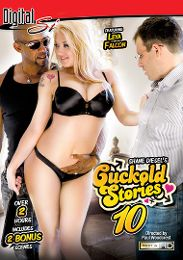 "Featured Category - Black Dicks/White Chicks presents the adult entertainment movie ""Cuckold Stories 10""."