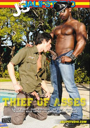 Thief Of Asses, starring Kelly Taylor (m), Marc Williams, Sean Bay, Cash Montague, Billy Dewitt, Jake Cruz, Jack Spade and Kamrun, produced by Jalif Studio.