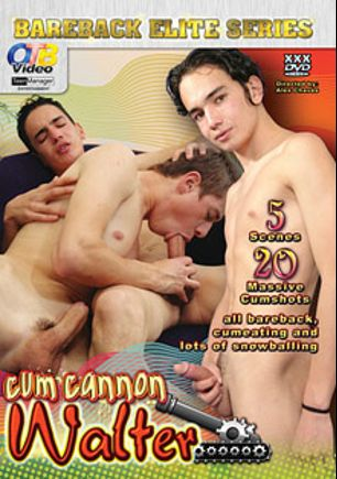 Cum Cannon Walter, starring Javier Baquero, Hernan, Gustavo, Ramiro, George and Eduardo, produced by OTB Video and CJXXX.