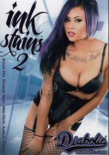 Ink Stains 2, starring Krissie Dee, Cody Sky, Maia Davis, Shay Ryan, Arabelle Raphael, Chad Alva, Nate Liquor, Danny Wylde and Tommy Pistol, produced by Diabolic Digital.