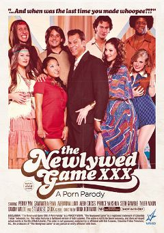 "Adult entertainment movie ""The Newlywed Game XXX: A Porn Parody"" starring Abby Cross, Penny Pax & Adrianna Luna. Produced by Vivid Entertainment."
