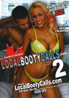 "Adult entertainment movie ""Local Booty Calls 2"" starring Sky Valentine, Amylee & Ray Wolf. Produced by Hell's Ground Production."