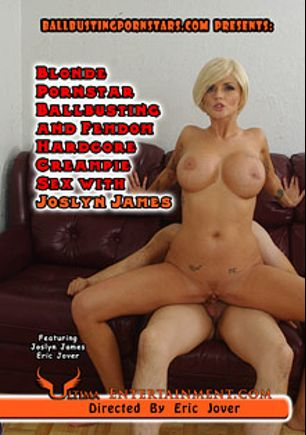 Blonde Pornstar Ballbusting And Femdom Hardcore Creampie Sex With Joslyn James, starring Joslyn James and Eric Jover, produced by Ultima Entertainment.